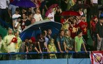 Vì sao trận U23 Việt Nam - U23 Myanmar bị tạm dừng gần 30 phút?