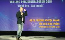 'Giáo sư quần đùi' làm phó hiệu trưởng Đại học Văn Lang