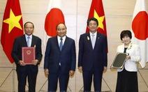 Thủ tướng Việt Nam và Thủ tướng Nhật Bản chứng kiến lễ trao đổi các văn kiện hợp tác