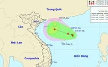 Vùng áp thấp mạnh lên, khả năng ảnh hưởng trực tiếp miền Bắc, miền Trung