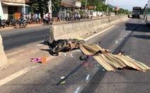 Hai vợ chồng bị xe cán chết vì băng qua quốc lộ bằng lối mở tự phát