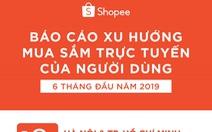 Xu hướng mua sắm trực tuyến trên Shopee 6 tháng đầu năm 2019