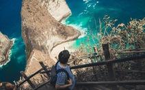 Thổn thức cùng sắc xanh trời biển của Nusa Penida