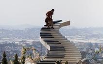 'Nấc thang lên thiên đường' nổi tiếng ở Đà Lạt bị buộc 'leo xuống': tháo dỡ