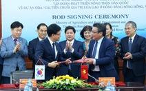 Hàn Quốc hỗ trợ 4,5 triệu USD nâng chất gạo ở Đồng bằng sông Hồng