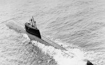 Tàu ngầm hạt nhân Liên Xô chìm dưới biển bất ngờ rò rỉ phóng xạ cao khủng khiếp