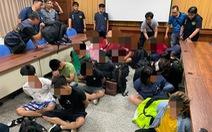 14 người Việt trên thuyền cá không giấy tờ bị Cảnh sát biển Đài Loan bắt