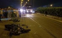 Chạy xe máy vô làn ôtô, tông đuôi xe container, lái xe 20 tuổi chết tại chỗ