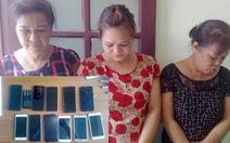 Bắt 3 nữ quái trộm cắp chuyên nghiệp đến Sầm Sơn hành nghề