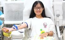 Nhiều bạn trẻ hiến máu vì bệnh nhi ung thư