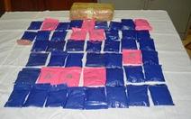 100 bộ đội cùng chó nghiệp vụ truy bắt hai tên vứt ma túy bỏ chạy trong đêm