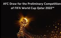 Bốc thăm vòng loại thứ 2 World Cup 2022 khu vực châu Á