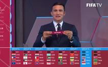 Việt Nam cùng bảng Thái Lan, Indonesia và Malaysia ở vòng loại thứ 2 World Cup 2022