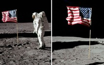 Vì sao trên Mặt trăng không có không khí mà quốc kỳ Mỹ tung bay?
