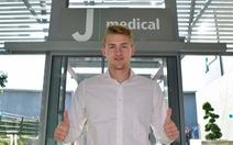 De Ligt chính thức gia nhập Juventus: 19 tuổi, 75 triệu euro