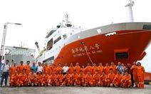 Tàu Trung Quốc Hải Dương 8 đã xâm phạm thềm lục địa Việt Nam