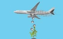 Hạn chế đi máy bay để bảo vệ môi trường?