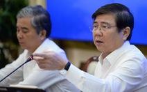 Chủ tịch Nguyễn Thành Phong: 'Chuyển đổi công nghệ xử lý rác quá chậm'