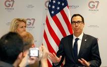 Bộ trưởng Tài chính Mnuchin: Mỹ - Trung có khả năng nối lại đàm phán trực tiếp