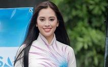 Hoa hậu Tiểu Vy làm đại sứ hình ảnh tại lễ hội hang động Quảng Bình