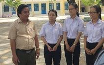 Một trường cấp 3 ở huyện có 4 thủ khoa