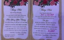 Đám cưới con, trưởng Đoàn đại biểu Quốc hội tổ chức 3 ngày 4 tiệc