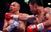 Đánh đối thủ xịt máu, Manny Pacquiao giành lại đai WBA