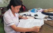 Thí sinh thi trên bộ đề in giấy A3 được miễn toàn bộ học phí vào trường du lịch