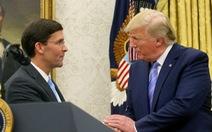 Mỹ có tân bộ trưởng quốc phòng quan điểm cứng rắn với Trung Quốc