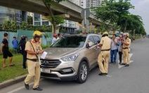 Đã làm việc với hai tài xế bỏ ôtô vi phạm trên xa lộ Hà Nội