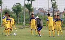 Tuyển U22 Việt Nam có một trận giao hữu trước SEA Games