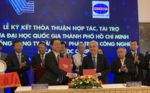Cam kết tài trợ 362 tỉ đồng vào Quỹ phát triển ĐH Quốc gia TP.HCM