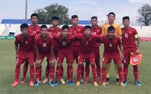 Đá phạt đền không vô, U15 VN thua Indonesia ngày ra quân Giải U15 Đông Nam Á 2019