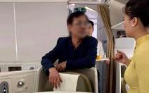 Phạt ông Vũ Anh Cường 10 triệu đồng vì sờ soạng phụ nữ trên máy bay