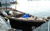 Ba người Triều Tiên chèo thuyền tới Hàn Quốc