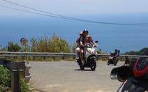 Cảnh báo tai nạn chết người khi đi xe máy lên đỉnh Sơn Trà