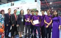 Học sinh Việt Nam giành huy chương vàng phát minh sáng chế quốc tế