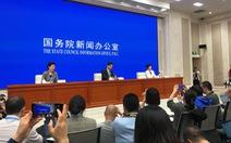 Trung Quốc lần đầu họp báo về tình hình bất ổn ở Hong Kong