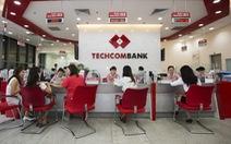6 tháng đầu năm, lợi nhuận Techcombank tăng trưởng mạnh