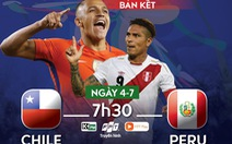 Lịch trực tiếp bán kết Copa America 2019: Chile 'hẹn' Brazil ở chung kết