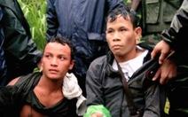 Bắt 2 người Lào vận chuyển 2kg ma túy đá tại ngã ba biên giới