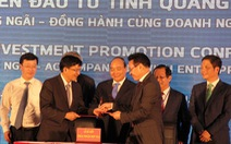 Thủ tướng Nguyễn Xuân Phúc: Quảng Ngãi phải phát triển sạch