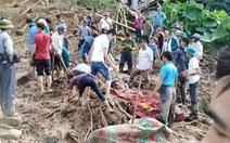 Mưa to gây lở đất ở Hà Giang làm 1 người chết, 3 người bị thương nặng
