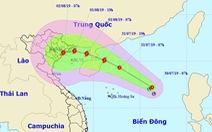 Áp thấp nhiệt đới cách Hoàng Sa 350km, biển động mạnh