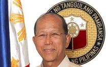 Bộ trưởng Quốc phòng Philippines chỉ trích hành động của Trung Quốc