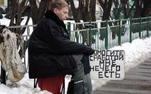 Hơn 20 triệu người Nga sống đắp đổi qua ngày