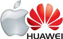 Doanh thu Apple giảm mạnh, còn Huawei tăng như chưa từng bị cấm