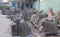 Đồ cổ 1.000 năm cực quý 'lăn lóc' sân bảo tàng, bỏ sọt sắt
