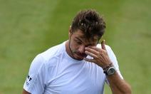 Tay vợt cao 2,11m khuất phục Wawrinka ở vòng 2 Wimbledon