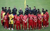 Tuyển U23 VN đá giao hữu với U23 Trung Quốc